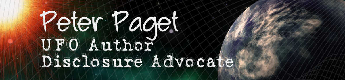 Peter Paget, UFO Author, Disclosure Advocate