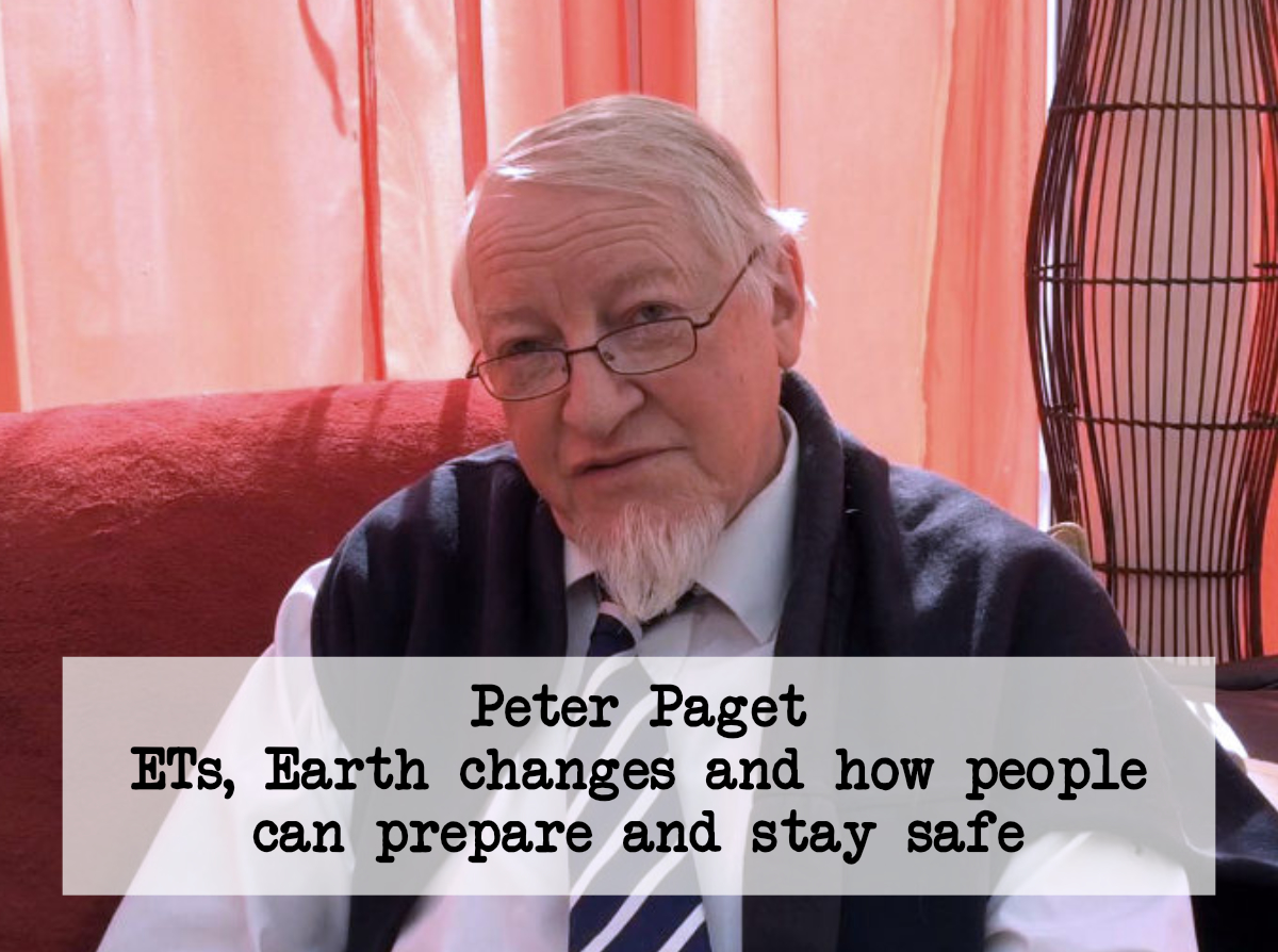 video ets earth changes and how to prepare peter paget ufo the second part of my video interview is here in it i talk about the influence of ets uts over the years to prevent the use of nuclear weapons