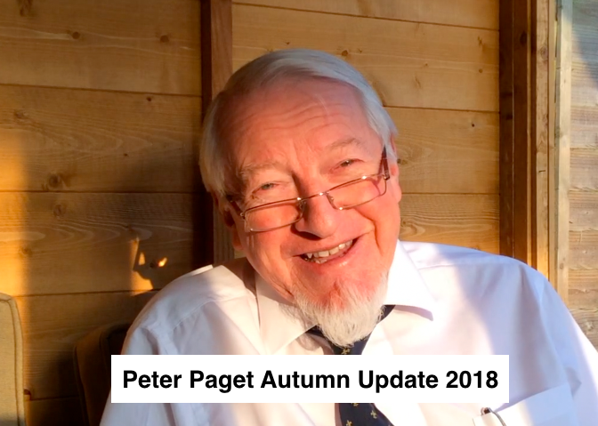 Peter Paget Autumn Update 2018